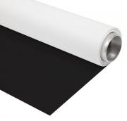 BRESSER Fondale in Vinile 1,35x4m bianco/nero