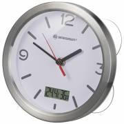 Orologio da Bagno BRESSER MyTime Termo/Igro - bianco