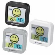 Termoigrometro BRESSER Temeo Smile con indicatore della qualità dell'aria
