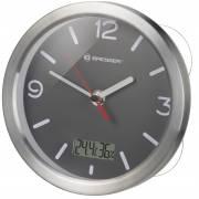 Orologio da Bagno con Termoigrometro BRESSER MyTime – grigio