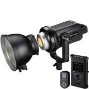 Spotlight a LED bicolore BRESSER BR-D1200BL COB con raffreddamento