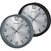 Orologio da parete BRESSER MyTime Silver Edition