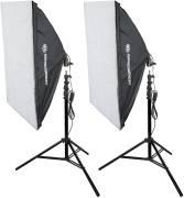 Kit di Illuminazione n.23 BRESSER SS-16 a Luce diurna 60x90cm (600W)