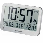 Orologio da Tavolo e da Parete BRESSER MyTime MC LCD argento 225x150 mm