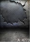 BRESSER BR-A4773 Fondale in Tessuto con Motivo 3,0x3,0m
