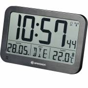 Orologio da Tavolo e da Parete BRESSER MyTime MC LCD nero 225x150 mm
