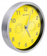 Orologio da parete Termo-/ Igrometro BRESSER MyTime 25cm - giallo