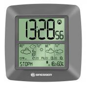 Orologio da parete BRESSER LCD Jumbo radiocontrollato con previsioni del tempo