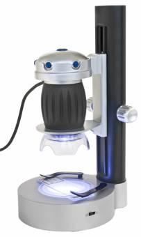 Bresser Junior Hand-held USB Microscopio LED Stand