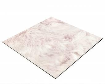 Sfondo BRESSER Flat Lay per Foto dall'Alto 40x40 cm Colore Rosa peluche
