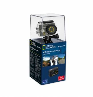 Action Camera NATIONAL GEOGRAPHIC Full-HD, 140°, 30 m, impermeabile