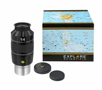 "Explore Scientific 100° N2 Oculare 14mm (2"")"