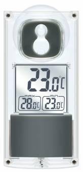 BRESSER Solar Window Thermometer