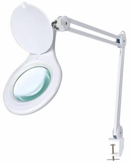 BRESSER Lente d'ingrandimento da tavolo 2x 125mm con illuminazione LED