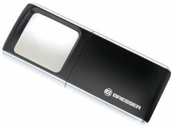 Lente d'ingrandimento BRESSER LED Pop-Up 3x 35x50mm