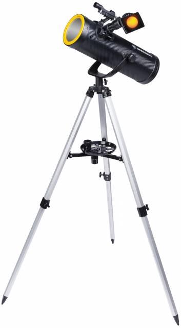 Telescopio con filtro solare BRESSER Solarix 114/500