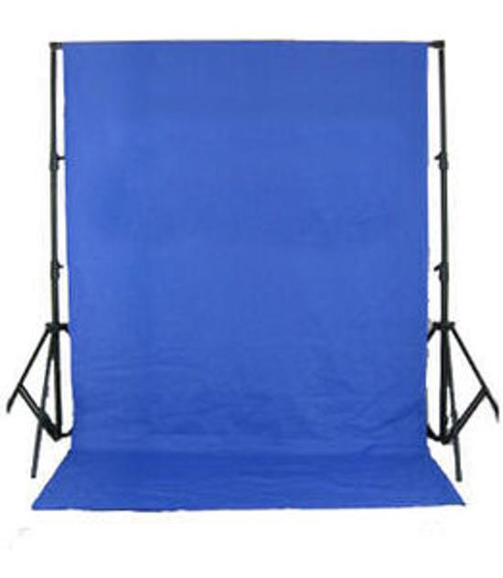 BRESSER BR-D26 Sistema di fondo + coperchio di sfondo blu cromaticamente 3x6m