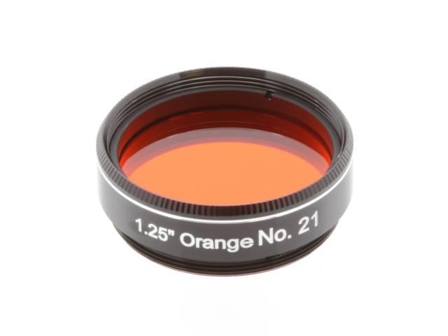 """Filtro EXPLORE SCIENTIFIC 1.25"""" Arancione num.21"""