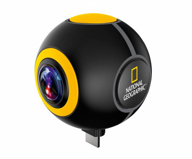 Android Action Camera NATIONAL GEOGRAPHIC Spy HD 1024P 720°