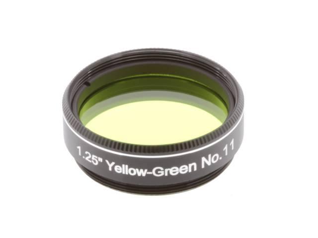 """Filtro EXPLORE SCIENTIFIC 1,25"""" Verde-giallo num.11"""