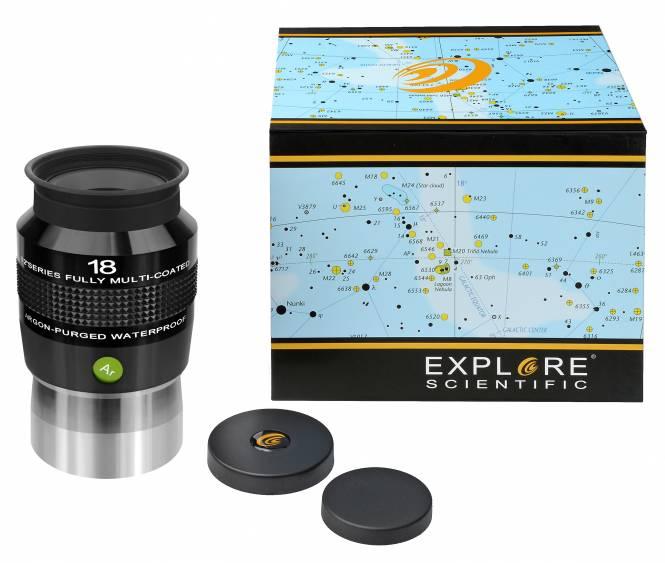 """Explore Scientific 82° N2 Oculare 18mm (2"""")"""