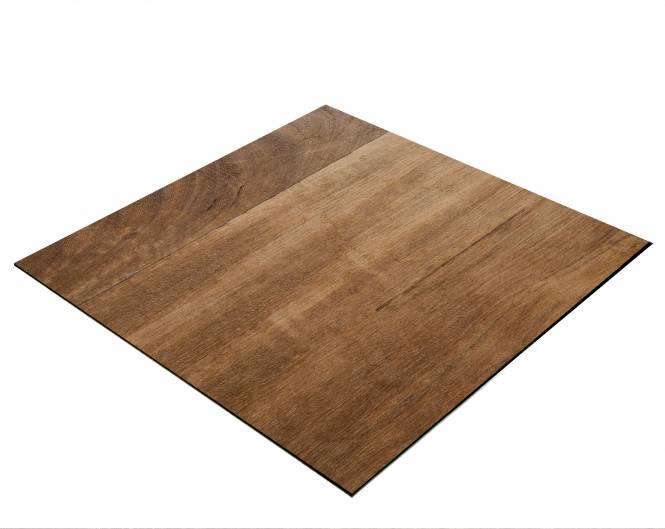 Sfondo BRESSER Flat Lay per Foto dall'Alto 40x40 cm Colore Legno di Teak