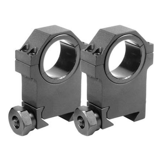 Barska 30/25.4mm X-High HD Weaver Style Supporto