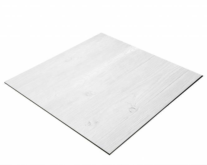 Sfondo BRESSER Flat Lay per Foto dall'Alto 40x40 cm Colore Tavolato bianco