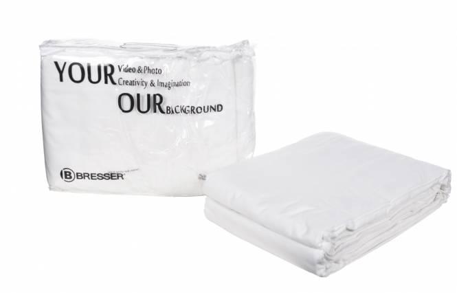 Fondale in Tessuto BRESSER Y-9 bianco 3x6m
