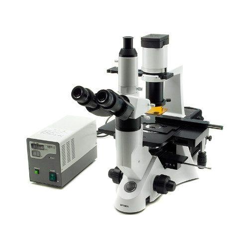 Optika XDS-2FL Microscopio invertido fluorescenza