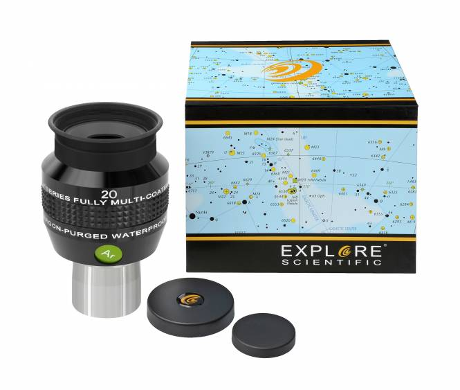 "Explore Scientific 68° Ar Oculare 20mm (1,25"")"