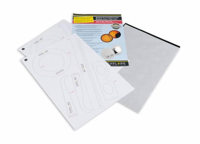 EXPLORE SCIENTIFIC Pellicola filtrante Solarix A4