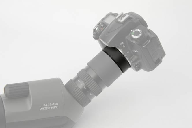 BRESSER Adattatore per collegare Fotocamere Canon EOS ai Telescopi terrestri della Serie Condor