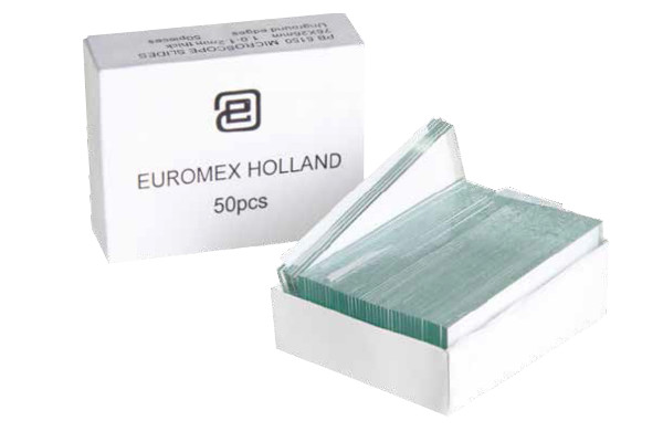 Euromex PB.5150 Microscope slides 76 x 26 mm