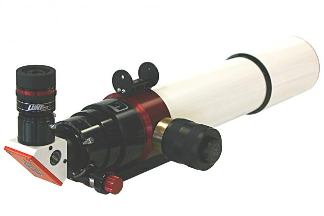 Lunt 80mm Ha B1200 BF FT & PT Telescopio