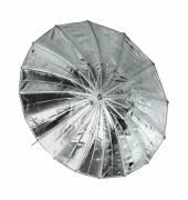 Ombrello riflettente BRESSER SM-09 Jumbo argento/nero 162 cm