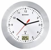 BRESSER Orologio da Bagno radiocontrollato MyTime Bath bianco